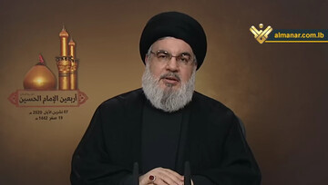 Sayyed Nasrallah highlights importance of following and personifying Imam Hussein (P) Values