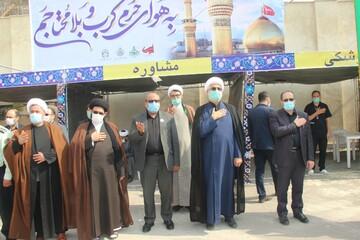 تصاویر/ فعالیت های موکب حوزه علمیه قزوین در زندان مرکزی این شهر