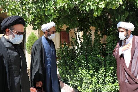 تصاویر  بازدید حجت الاسلام والمسلمین حسینی کوهساری از مدرسه علمیه منصوریه