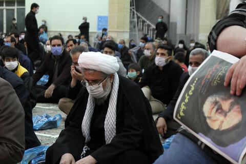 تصاویر/ مراسم پنجمین سالگرد شهادت حبیب سپاه حاج حسین همدانی