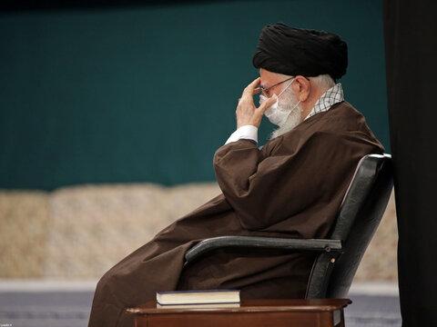 مراسم عزاداری اربعین حسینی علیهالسلام با حضور رهبر معظم انقلاب