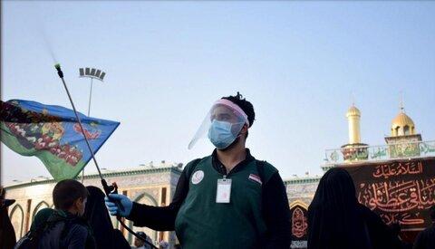 خدمات رسانی بهداشتی به زائران اربعین حسینی
