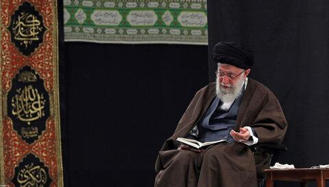 مراسم عزاداری و قرائت زیارت اربعین با حضور رهبر معظم انقلاب