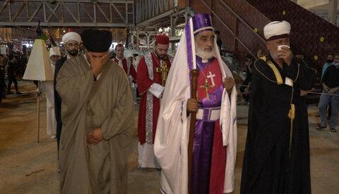 شخصیت های مسیحی و ایزدی در مراسم اربعین