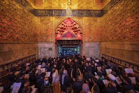 حال و هوای حرم حضرت اباعبدالله الحسین (ع) در روز اربعین