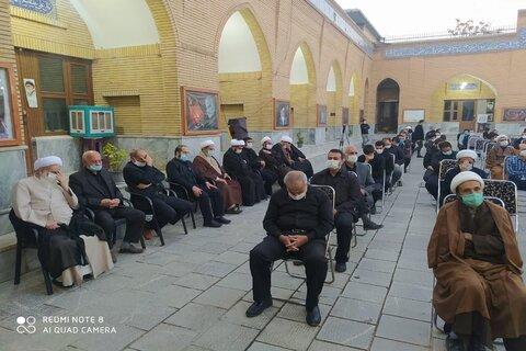 تصاویر/ مراسم اربعین حسینی و بزرگداشت حضرت آیت الله ممدوحی(ره) مسجد حاج شهباز خان کرمانشاه