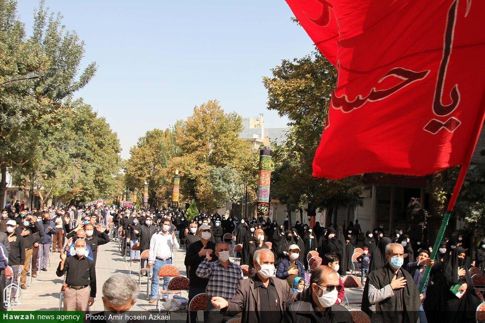 تصاویر/ مراسم جاماندگان اربعین حسینی در همدان
