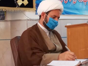 تسلیت مدیر حوزه علمیه خواهران سمنان به امام جمعه بسطام