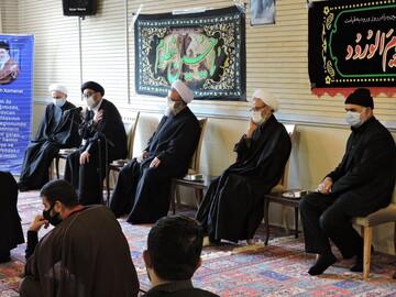بالصور/ مراسيم الدفاع عن المسلمين في قره باغ بمدينة تبريز