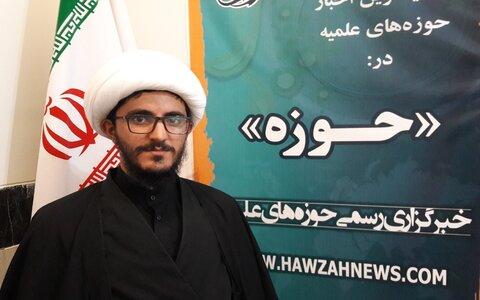حجت الاسلام پیام ملکی مدیر مدرسه حضرت ولی عصر(عج) کنگاور