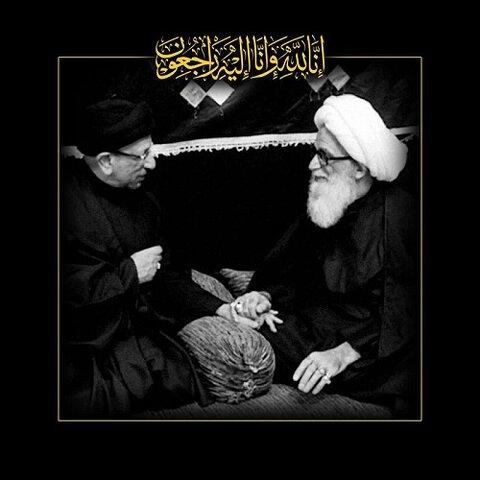 آية الله النجفي يعزي برحيل خادم المنبر الحسيني السيد جاسم الطويرجاوي