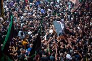 تصاویر/  تشییع میلیونی پیکر سید الطویرجاوی خطیب معروف نجف اشرف در کربلای معلی