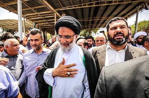 حجت الاسلام والمسلمین موسوی فرد امام جمعه اهواز