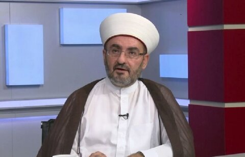 شیخ جمال الدین شبیب رئیس سازمان رسانه های اسلامی لبنان