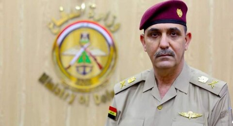 """سرلشگر """"یحیی رسول"""" سخنگوی فرماندهی کل نیرو های مسلح عراق"""