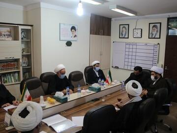 تصاویر/ بیست و سومین جلسه شورای نهادهای عالی حوزوی استان کردستان