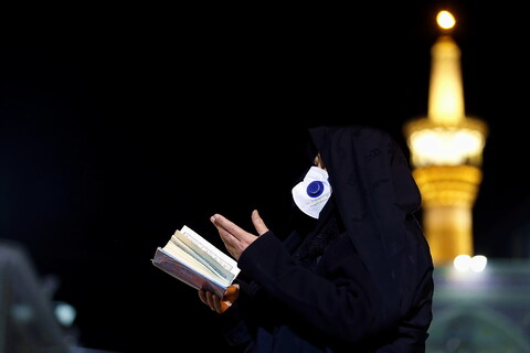 حال و هوای حرم رضوی در آستانه سالروز شهادت ثامن الائمه(ع)