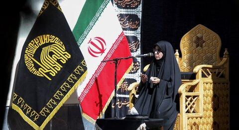 Holy shrine's female foreign pilgrims hold Safar mourning ceremony