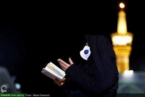 بالصور/ أجواء الحرم الرضوي الشريف على أعتاب شهادة الإمام ثامن الحجج علي بن موسى الرضا عليه السلام