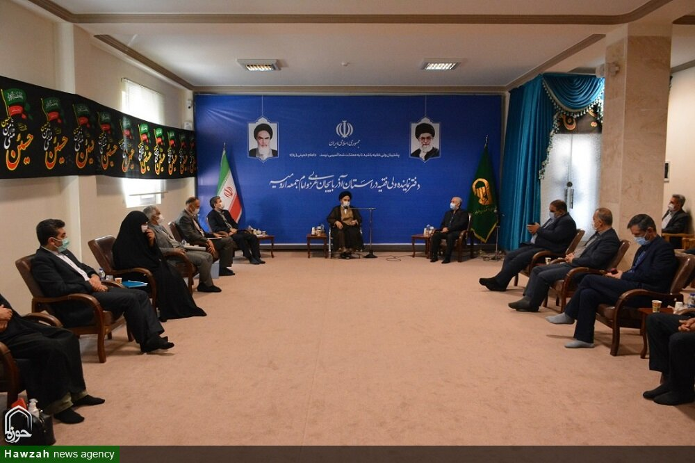 تصاویر/ دیدار رئیس بنیاد شهید و امور ایثارگران با نماینده ولی فقیه در آذربایجان غربی