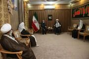 تصاویر/ نشست رئیس مجلس با علمای شیعه و سنی سیستان و بلوچستان