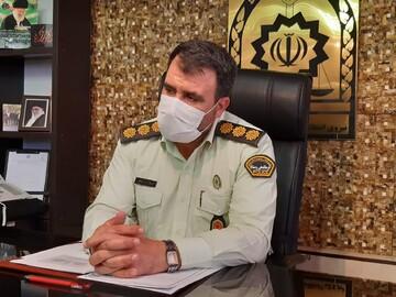 فرمانده انتظامی کاشان:  روحانیت در کاهش آسیب های اجتماعی مددکار ناجا است