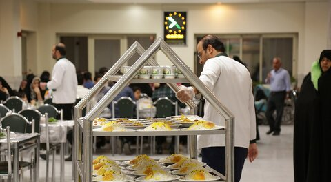 Imam Reza Guesthouse receives Naeem Rezvan pilgrims