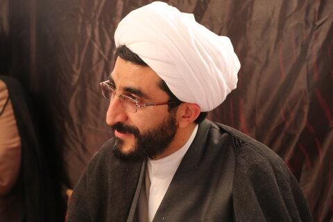 تصاویر| بازدید مدیر حوزه علمیه فارس از موکب قشقایی ها و قمربنی هاشم مسجد روح الله معالی آباد