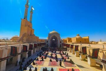 تصاویر/ مراسم عزاداری رحلت رسول اکرم(ص) و شهادت امام حسن مجتبی(ع) در یزد