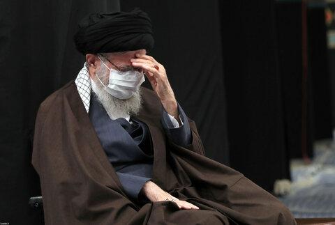 تصاویر/ مراسم عزاداری رحلت رسول اکرم(ص) و شهادت امام حسن مجتبی(ع) با حضور رهبر معظم انقلاب