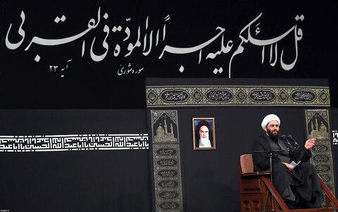 فیلم کامل سخنرانی حجتالاسلام حامد کاشانی در حضور رهبر انقلاب