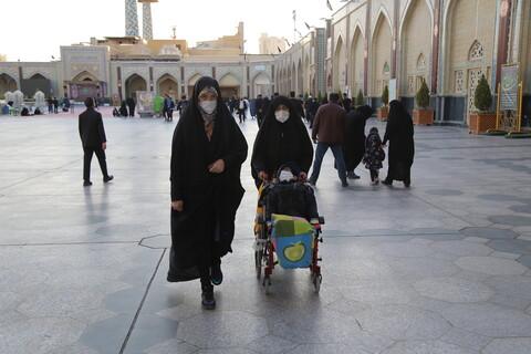 حال و هوای حرم امام رضا (ع) در آخرین روزهای ماه صفر