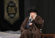 تصاویر/ مراسم عزاداری روز شهادت حضرت امام رضا علیهالسلام با حضور رهبر انقلاب