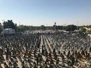 تصاویر/ مراسم تشییع پیکر شهید مدافع حرم «زکریا شیری» در قزوین