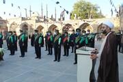 مردم قزوین در تشییع شهید مدافع حرم سنگ تمام گذاشتند