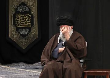 تصویر/ شہادت امام رضا (ع) کی مناسبت سے مجلس عزا میں رہبر معظم انقلاب اسلامی کی شرکت