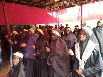 برگزاری مراسم عزاداری شهادت امام رضا (ع) در پایتخت نیجریه+تصاویر