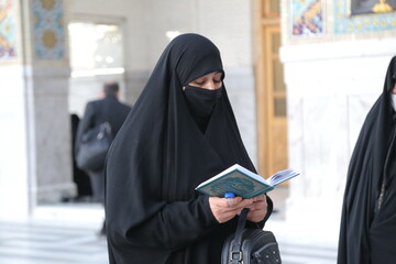 اجرای طرح ملی ختمهای ثقلین در چهل روز در آستان حضرت معصومه(س)