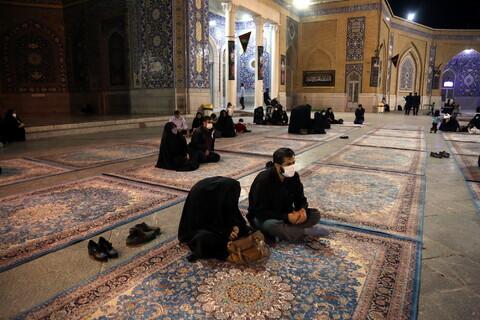 تصاویر/ حال وهوای حرم در سالروز شهادت امام هشتم