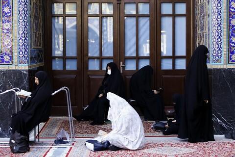 تصاویر/ حال و هوای حرم رضوی در روز شهادت ثامن الائمه(ع)