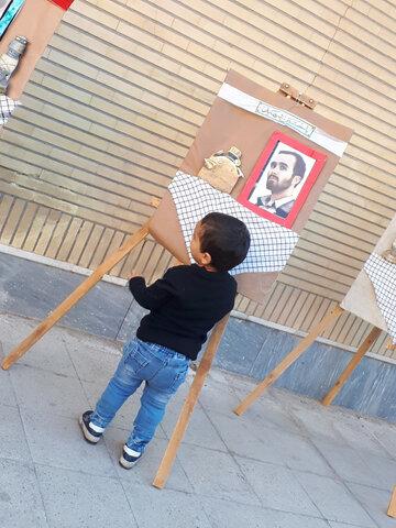 تصاویر شما/ آئین سوگواری دهه آخر ماه صفر با رعایت امور بهداشتی در محله بنیاد قم