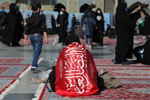 تصاویری از زائران حرم رضوی