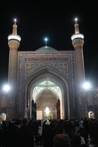 تصاویر/حال و هوای حرم امام رضا(ع)