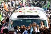 بازنشر/ تصاویر استقبال مردم قم از رهبر معظم انقلاب ۲۷ مهر ۸۹