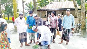 مسجد مرزی؛ نماد اتحاد مسلمانان بنگلادش و هند