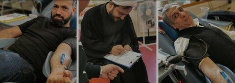 اعضای مسجدی در نیوکاسل خون اهدا کردند
