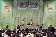 بازنشر/ تصاویر دیدار خانوادههای شهدا و جانبازان قم با رهبر معظم انقلاب در ۲۸ مهر سال ۸۹