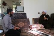 تصاویر| دیدار مدیر حوزه علمیه کردستان با طلاب کامیاران