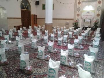 ۲۵۰ بسته معیشتی به نیازمندان گلپایگانی اهدا شد
