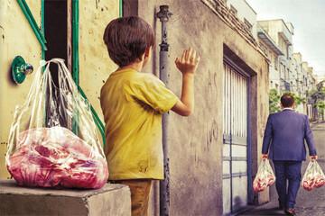 صدرنشینی یزدیها در نذر قربانی ۹۹/ توزیع بیش از ۸ میلیارد تومان گوشت قربانی بین نیازمندان